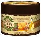 ECO&Vit Маска Термальная защита с пчелиным маточным молочком и кедровым маслом