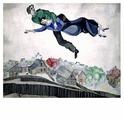 """Molly Картина по номерам """"Влюбленные над городом"""" 40х50 см (GX8265)"""
