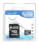 Карта памяти SmartBuy microSD + SD adapter