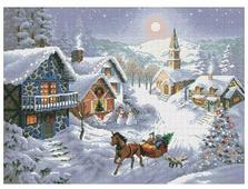 Белоснежка Набор для вышивания Зимнее раздолье 44,5 x 33 см (1386)