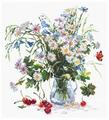 Чудесная Игла Набор для вышивания Ромашки и колокольчики 29 x 32 см (40-40)