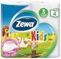 Туалетная бумага Zewa Kids Детская трёхслойная