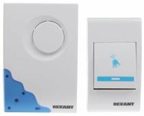 Звонок с кнопкой REXANT 73-0010 электронный беспроводной (количество мелодий: 36)