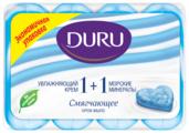 Крем-мыло кусковое DURU Soft Sensations 1+1 Крем & морские минералы