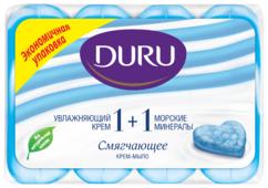 Крем-мыло кусковое DURU Soft sensations 1+1 Морские минералы