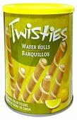 Вафельные трубочки Twisties с лимонным кремом 400 г