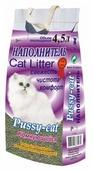 Наполнитель Pussy-Cat Комкующийся (4.5 л)