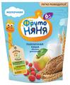 Каша ФрутоНяня молочная пшеничная с яблоком и земляникой (с 6 месяцев) 200 г