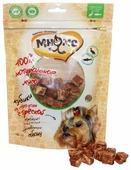 Лакомство для собак Мнямс Кубики из мяса утки с треской