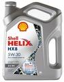Моторное масло SHELL Helix HX8 A5/B5 5W-30 4 л