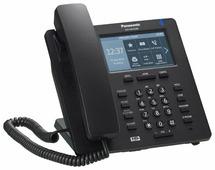 VoIP-телефон Panasonic KX-HDV330 черный