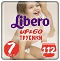 Libero трусики Up & Go 7 (16-26 кг) 112 шт.