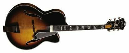 Полуакустическая гитара Peerless Monarch