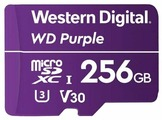 Флеш карта microSDXC 256Gb Class10 WD WDD256G1P0A Purple w/o adapter