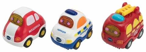 Набор машин VTech Бип-Бип Toot-Toot Drivers (80-205866)