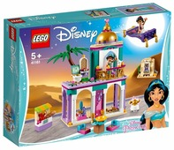 Конструктор LEGO Disney Princess 41161 Приключения Аладдина и Жасмин во дворце