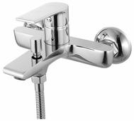 Однорычажный смеситель для ванны с душем IDDIS Edifice EDISB00I02WA