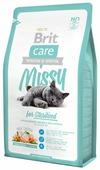 Корм для стерилизованных кошек Brit Care Missy с курицей