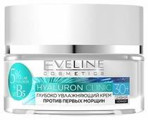 Eveline Cosmetics Hyaluron Clinic Глубоко увлажняющий крем для лица против первых морщин 30+