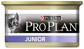Корм для котят Purina Pro Plan Junior беззерновой, с курицей 85 г (паштет)