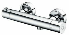 Смеситель для душа WasserKRAFT Berkel 4822 Thermo двухрычажный с термостатом хром