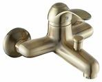 Смеситель для ванны с душем Gross Aqua Arabic Bronze 2540516BRL однорычажный лейка в комплекте бронза