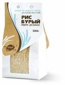 Рис Образ Жизни бурый резаный 500 г