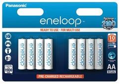 Аккумулятор Panasonic eneloop BK-3MCCE/8BE 1900мАч AA BL8