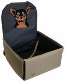 Автогамак для собак Melenni Стандарт Чихуахуа 45х45х57 см