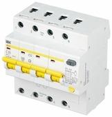 Дифференциальный автомат IEK АД-14 4П 30 мА C