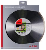 Диск алмазный отрезной 350x2x30 Fubag Keramik Extra