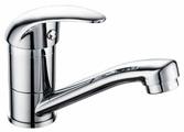 Смеситель для кухни (мойки) Gross Aqua Basic 3210257С-G0109 однорычажный хром
