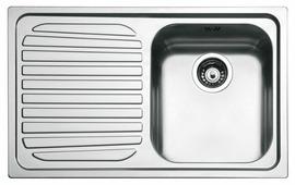 Врезная кухонная мойка smeg SP791S-2 79х50см нержавеющая сталь