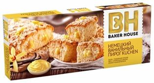 Пирог BAKER HOUSE немецкий ванильный Kuchen