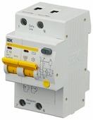 Дифференциальный автомат IEK АД-12 2П 30 мА C