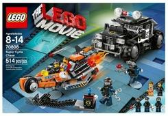 Конструктор LEGO The LEGO Movie 70808 Погоня на супермотоциклах
