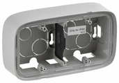 Коробка наружного монтажа Legrand Valena Allure 755572, алюминиевый