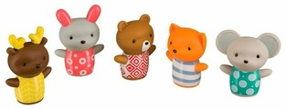 Набор для ванной Happy Baby Little Friends (32024)