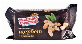 Щербет Мишкино Счастье Настоящий с арахисом 250 г