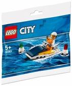Конструктор LEGO City 30363 Гоночный катер