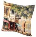 Подушка декоративная Gift'n'Home Парижское Кафе 35х35 см (PLW-35 Cafe)