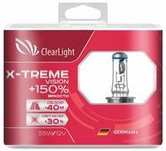Лампа автомобильная галогенная ClearLight X-treme Vision +150% MLH11XTV150 H11 12V 55W 2 шт.
