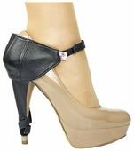 Автопятка Heel Mate de Lux полная защита для женской обуви, натуральная кожа