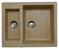 Врезная кухонная мойка LAVA D1 60х49см искусственный гранит