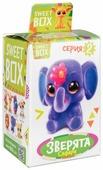 Жевательный мармелад Sweet Box С игрушкой Зверята 10 г