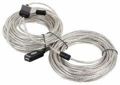 Удлинитель VCOM USB - USB (VUS7049) 25 м