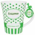 BE HAPPY Кружка Владимир 350 мл
