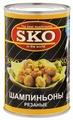 Шампиньоны SKO стерилизованные (резаные)
