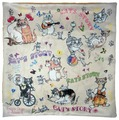 Чехол для подушки Gift'n'Home Веселые кошки 40х40 см (НВЛ-40 Cats)
