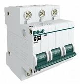 Автоматический выключатель DEKraft ВА-101 3P (C) 4,5kA
